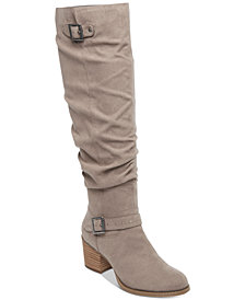 Madden Girl Flash Slouch Boots