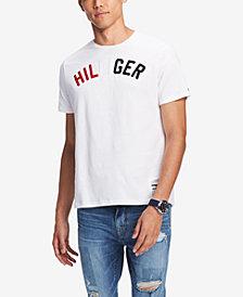 Tommy Hilfiger Men's Fairview Tufted Logo Appliqué T-Shirt