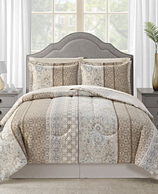CLOSEOUT! Helena Reversible 8-Pc. Comforter Sets