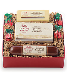 Hickory Farms Savory Hickory Collection Meat and Cheese Gift Set