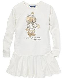 Polo Ralph Lauren Big Girls Holiday Bear Dress