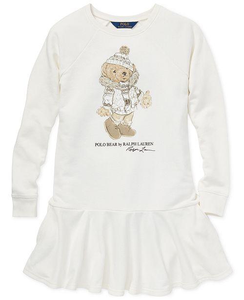 11191e32d Polo Ralph Lauren Big Girls Holiday Bear Dress   Reviews - Dresses ...