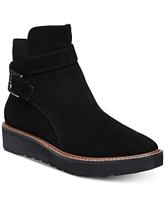 745a9112cc7f5 Black Ankle Boots: Shop Black Ankle Boots - Macy's