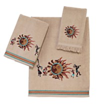 Avanti Southwest Sun Embroidered Bath Towel