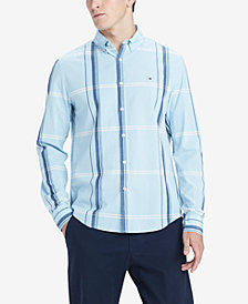 Tommy Hilfiger Men's Morris Custom-Fit Plaid Shirt