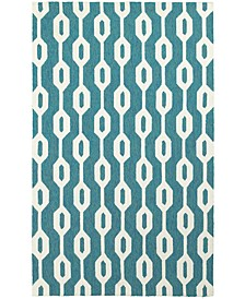 Home  Atrium Indoor/Outdoor 51102 Blue/Ivory Area Rug