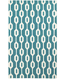 Tommy Bahama Home  Atrium Indoor/Outdoor 51102 Blue/Ivory Area Rug