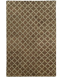 Home  Maddox 56503 Brown/Blue Area Rug