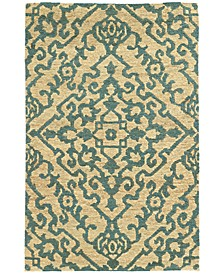 Home  Valencia 57703 Beige/Blue Area Rug