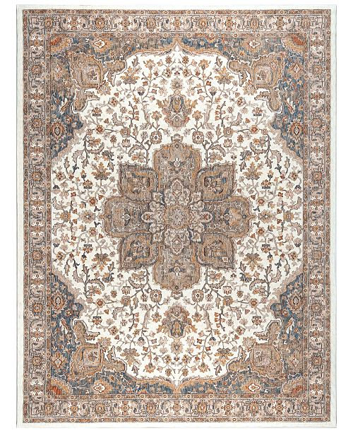 KM Home Harper HA3302 Ivory Area Rug