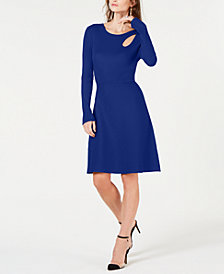 I.N.C. Cutout Sweater Dress, Created for Macy's