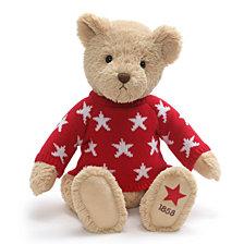 Macy's Star Print Sweater Bear, Created For Macy's