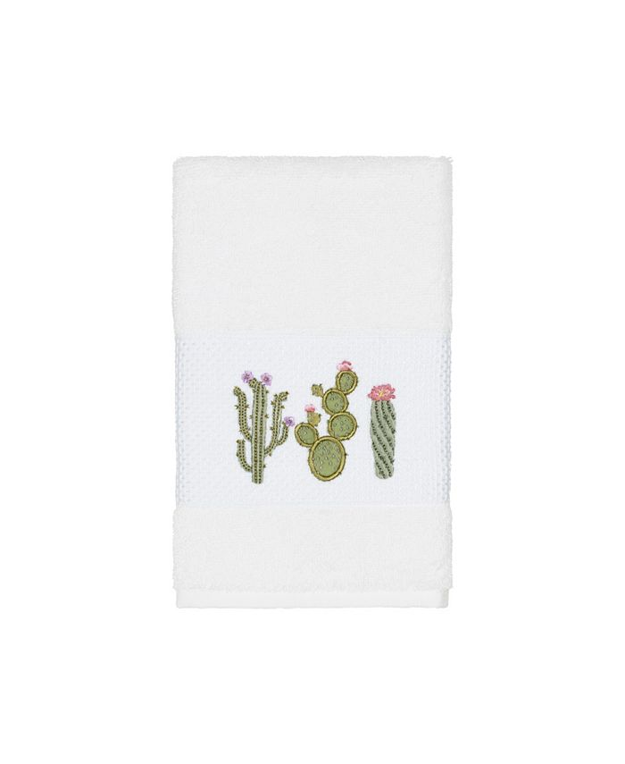 Linum Home - Mila Embroidered Turkish Cotton Hand Towel