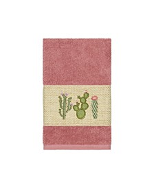Mila Embroidered Turkish Cotton Hand Towel