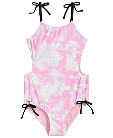 Summer Crush Big Girls 1-Pc. Printed Monokini Swimsuit