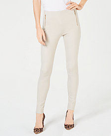 I.N.C. Ponté-Knit Skinny Pants, Created for Macy's