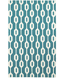 Tommy Bahama Home  Atrium Indoor/Outdoor 51102 Blue/Ivory 10' x 13' Area Rug