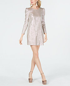Rachel Zoe Metallic Millie Shift Dress