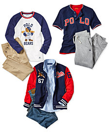 Polo Ralph Lauren Little & Big Boys Back To School Shirts, Pants & Jacket Separates