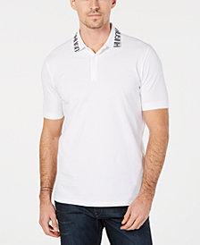 HUGO Men's Logo-Collar Polo