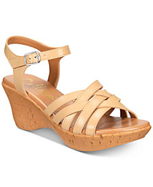 Callisto Crosswalk Platform Wedge Sandals, Created for Macy's