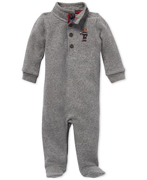 e36819a7b3a31 Polo Ralph Lauren Baby Boys Polo Bear Coverall   Reviews - All Baby ...