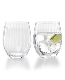Riedel Optical O Longdrink Glasses, Set of 2
