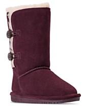 6c2227c0951 Bearpaw Little Girls  Lori Winter Boots from Finish Line