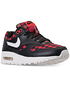 Nike Girls' Air Max 1 SE Casual Sneakers from Finish Line