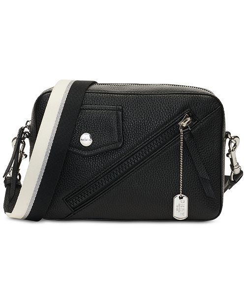 33548dccf DKNY Jagger Leather Camera Bag, Created for Macy's & Reviews ...