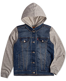 Levi's® Big Boys Indigo Trucker Jacket