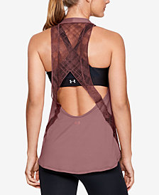Under Armour Misty Copeland Lace-Back Tank Top