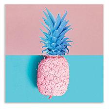 Sliced Pineapple Printed Acrylic