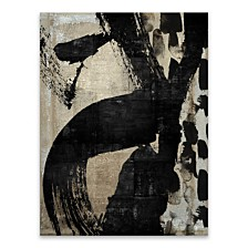 "Neutral Abstract Silver Metallic Canvas Art - 24"" W x 36"" H x 1.25"" D"