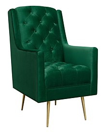 Reese Button Tufted Accent Chair