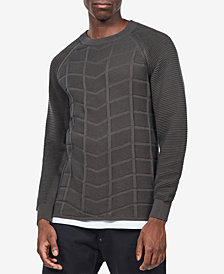 G-Star RAW Men's Slim-Fit Textured Moto Sweater