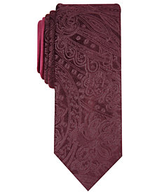 Tallia Men's Amos Slim Paisley Tie
