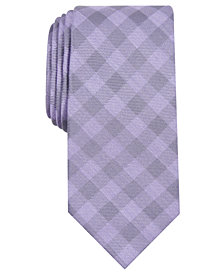 Perry Ellis Men's Kluivert Check Tie