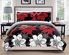 Woodside 7 Piece Queen Bed in a Bag Quilt Set