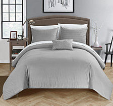 Chic Home Bea 8 Pc Queen Duvet Set
