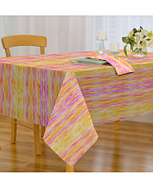 "Elrene Color Stream Indoor/Outdoor 70"" Round Tablecloth"