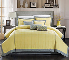 Chic Home Rhodes 12 Pc Queen Comforter Set