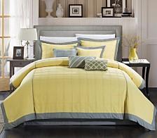 Chic Home Rhodes 12 Pc Queen Comforter
