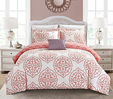 Chic Home Murano 6 Pc Twin X-Long  Duvet Set