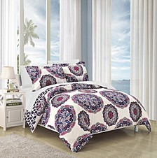 Ibiza 7 Piece Full/Queen Bed In a Bag Duvet Set