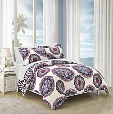 Chic Home Ibiza 7 Piece Bed In a Bag Duvet Set Collection