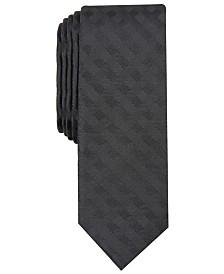 Penguin Men's Wefald Skinny Check Tie