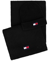 864bb48a5cd Tommy Hilfiger Men s Logo Hat   Scarf Set