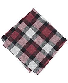 Bar III Men's Jasper Plaid Pocket Square, Created for Macy's