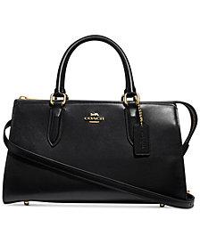 COACH Refined Leather Bond Bag
